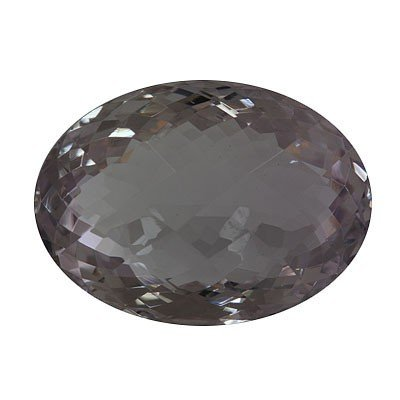 Natural Amethyst Checkered Oval Cut 20x28mm 45.97ctw