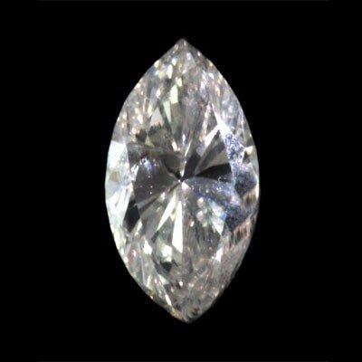 Genuine Marquise Loose Diamond 0.51ctw, G-H color/SI-I