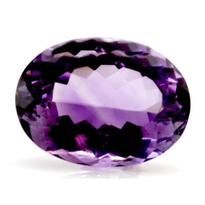 Natural Amethyst Oval Cut 14x18mm 1 pc/lot 13.28 ctw