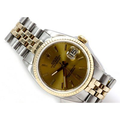 Used Rolex Oyster Men Watch Perpetual Date 14k