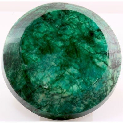 Natural Round Shape Emerald Beryl Gemstone 2094ctw