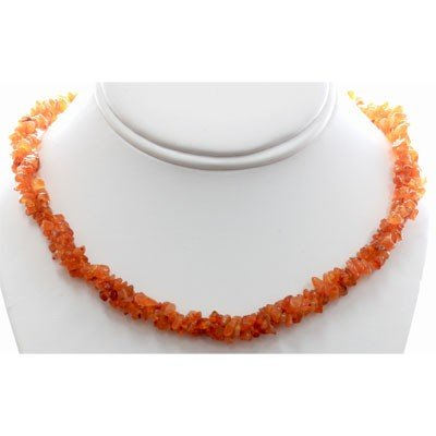Natural Cornoline Semi Precious Stone Necklace