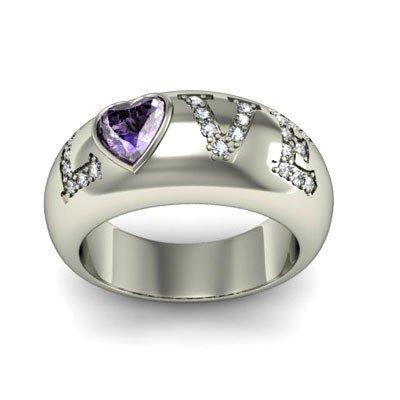 Genuine 0.74 ctw Tanzanite Diamond Ring 14k W/Y Gold