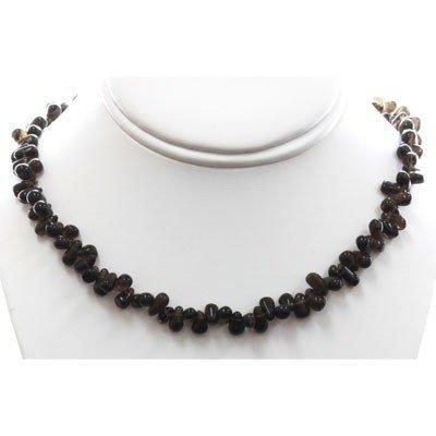 Natural Smokey Topaz Necklace