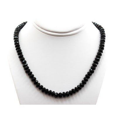 Black Spinal 283.01 ctw Necklace