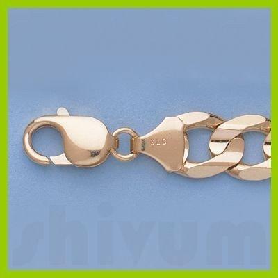 """Genuine 16"""" 14k  Gold-Yellow 10.8mm Figaro Chain 67.4g"""
