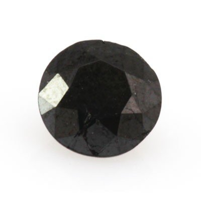 Natural Black Diamond Round Cut 2.80ctw