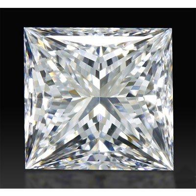 Certified GIA 1.01ctw Princess Cut Diamond VS2, E color