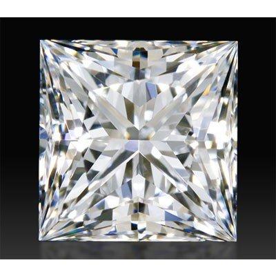 Certified GIA 1.0ctw Princees Cut Diamond VVS2, F color
