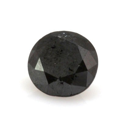 Natural Black Diamond Round Cut 2.00ctw