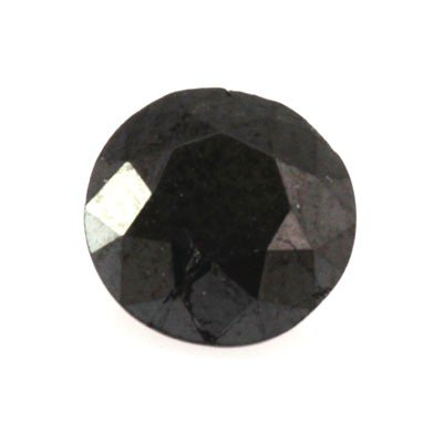 Natural Black Diamond Round Cut 2.90ctw
