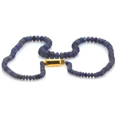 Natural Tanzanite Gradual Beads Necklace 83.50 ctw