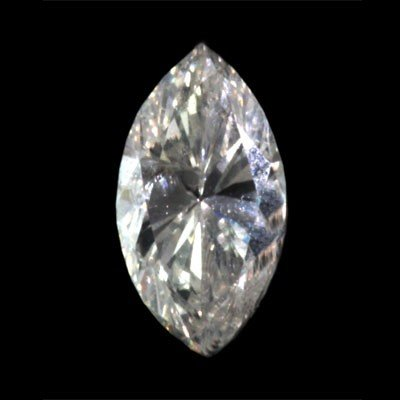 Genuine Marquise Loose Diamond 0.51ctw, G-H color/SI-I