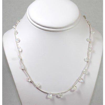 30.19 ctw Natural Opal Eye Drop Necklace