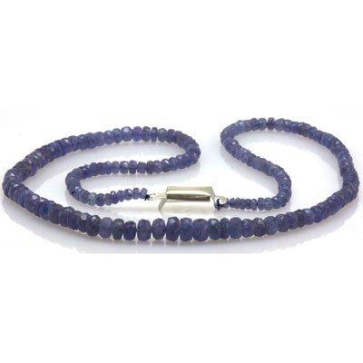 Natural AA Tanzanite Graduated Necklace 64.55 ctw