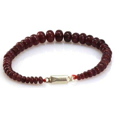 Natural Ruby Briolettes Graduated Bracelet 104.42 ctw
