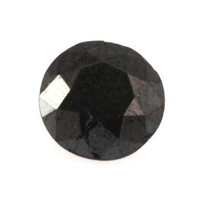 Natural Black Diamond Round Cut 2.90ctw