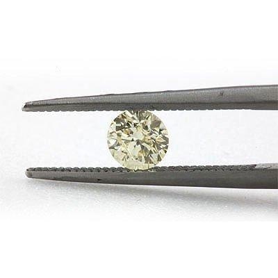 Natural 0.52 ctw Fancy Yellow Diamond Loose 1 I1