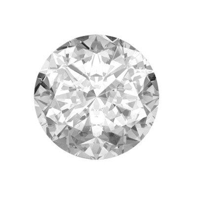 GIA Certified 0.75 ctw Round Brilliant Diamond, VS1, D