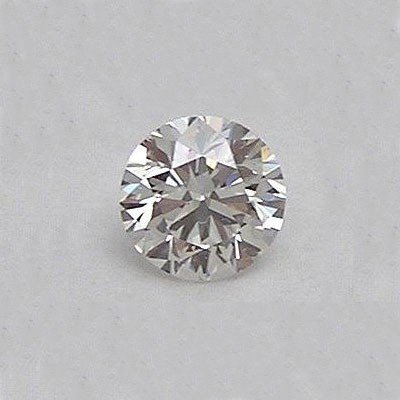 Certified 2.12 ctw Diamond Loose 1 Round SI2, E