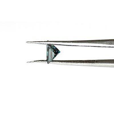 Genuine Blue Loose Diamond Princess Cut 0.87ctw - 2