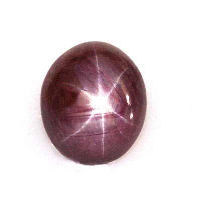 Natural Ruby Star Oval Cut Loose Gemstone 21.50ctw
