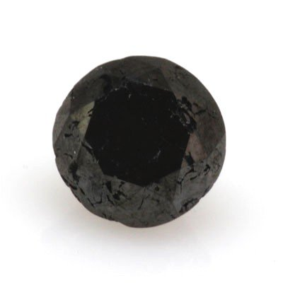Natural Black Diamond Round Cut 2.35ctw