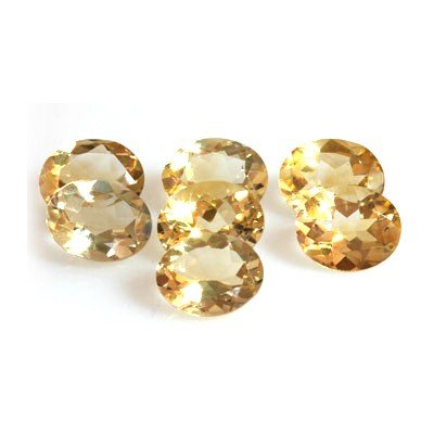 Natural Citrine 14.66 ctw Oval Cut 10x8mm