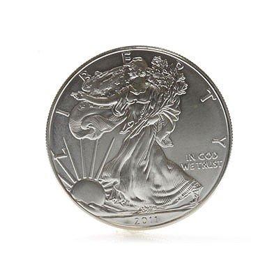 1 Oz. Coin Fine Silver USA One Dollar 2011