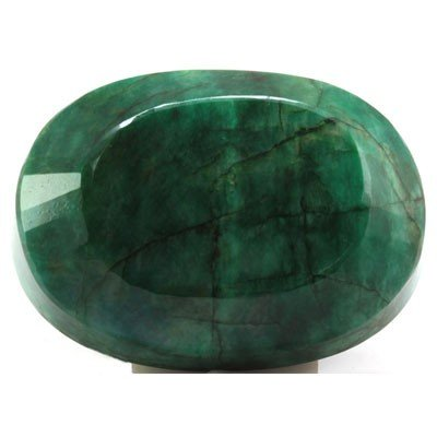 Natural African Emerald Loose 164ctw Oval Cut