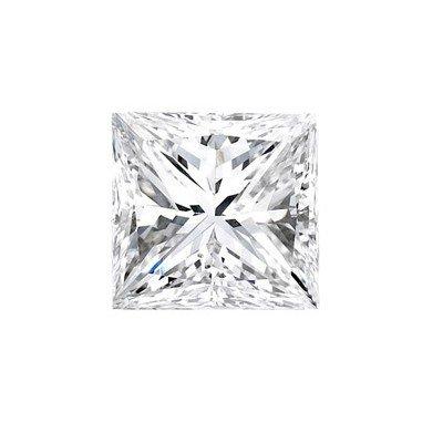 Genuine Princess Cut 0.35ctw Loose Diamond G to H, SI2
