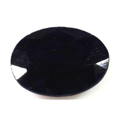 27.67 ctw Dark Blue Sapphire Loose Oval