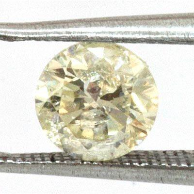 Genuine Round Cut Loose Diamond 0.60ctw K to L I1 to I2
