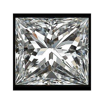 Certified GIA 1.04ctw Princess Cut Diamond VS1, G color