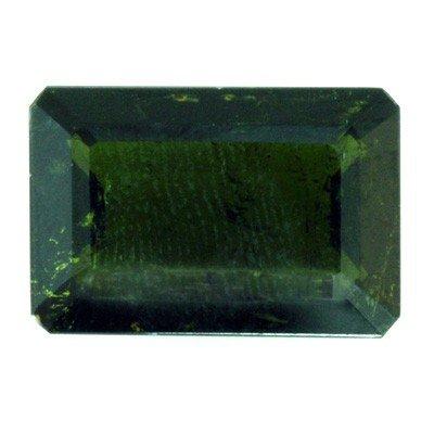 Natural 10.17ctw Green Tourmaline Emerald Cut Stone