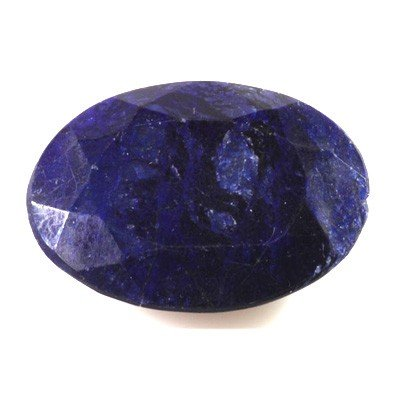 Natural African Sapphire Loose 22.6ctw Oval Cut