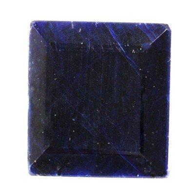 African Sapphire Loose Gems 169.74ctw Square Cut