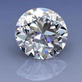 GIA Certified 1.0ctw Round Brilliant Diamond, SI1, G