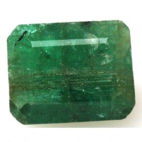 Natural 1.73ctw Emerald Emerald Cut Stone