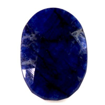 Natural African Sapphire Loose 14.38ctw Oval Cut