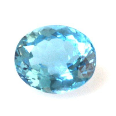 Natural 7.3ctw Blue Topaz Oval 10x14 Stone