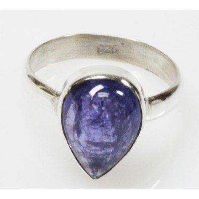 Natural 3.67g Tanzanite .925 Sterling Silver Ring