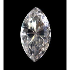 EGL Certified 0.59 Ct MARQUISE BRILLIANT H, SI1