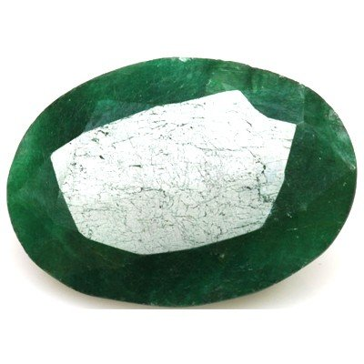African Emerald Loose Gems 34.54ctw Oval Cut