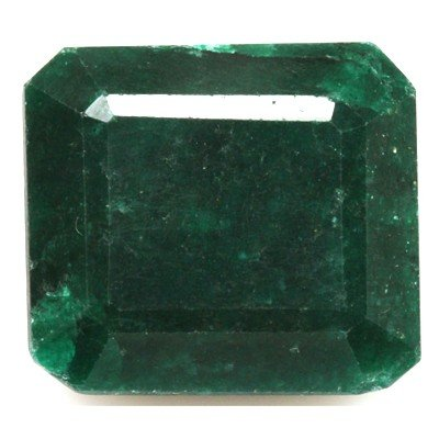 African Emerald Loose Gems 102.58ctw Square Cut