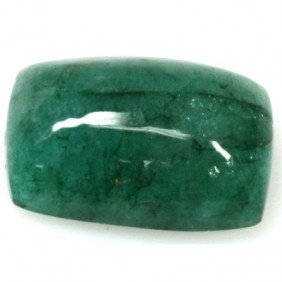 Natural 13.93ctw Emerald Cushion Stone