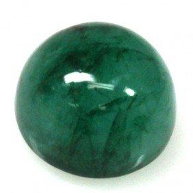 Natural 10.36ctw Emerald Round Stone