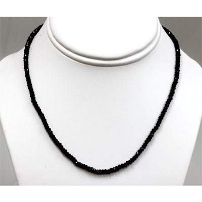 Black Spinal 50.0 ctw Necklace
