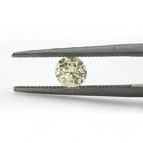Natural 0.52 Ctw Fancy Yellow Diamond  Loose 1 I1-I2