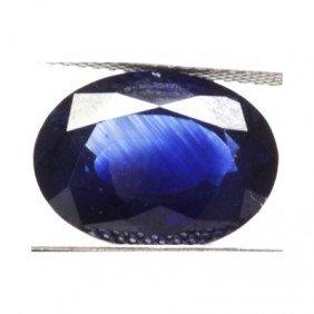Natural 3.74ctw Ceylon Sapphire Oval Stone